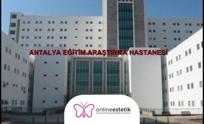 Antalya Devlet Hastanesi Estetik Cerrahi