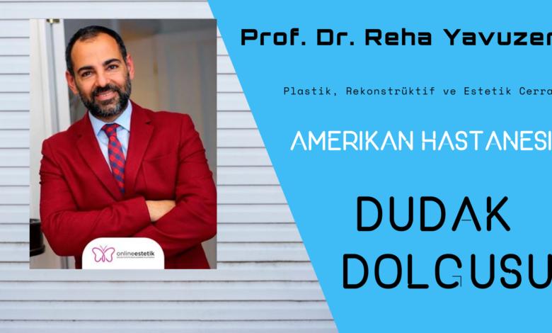 Prof. Dr. Reha Yavuzer